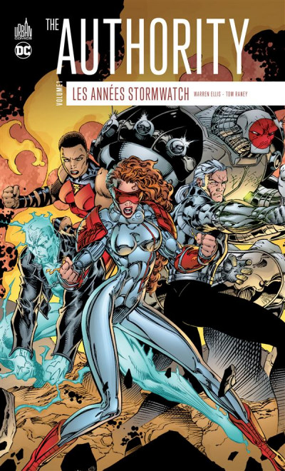 Couverture The authority - les années Stormwatch tome 1