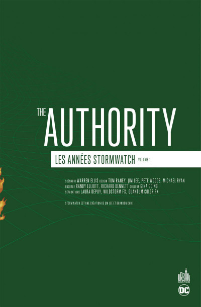 Page 3 The authority - les années Stormwatch tome 1