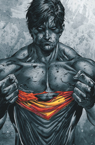 Page 1 Superman terre-1 tome 2