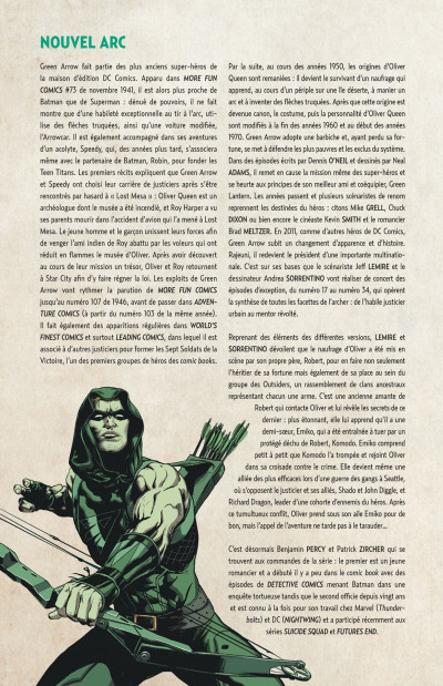 Page 4 Green arrow tome 4