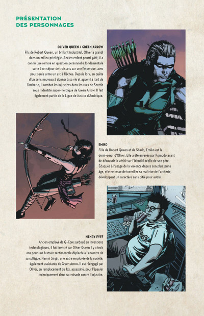Page 5 Green arrow tome 4