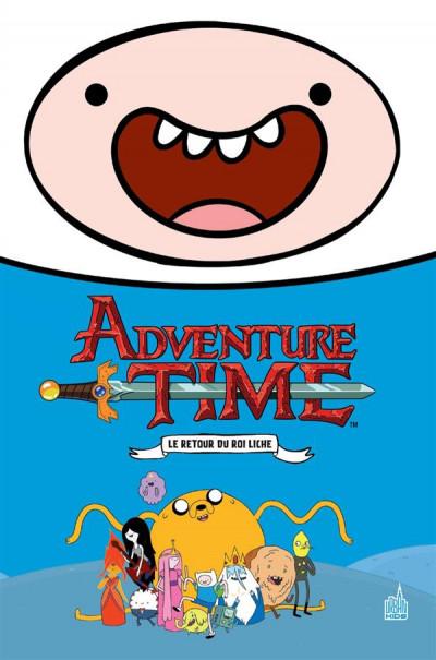 Couverture Adventure time intégrale tome 1
