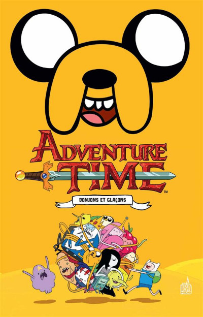 Couverture Adventure time intégrale tome 2