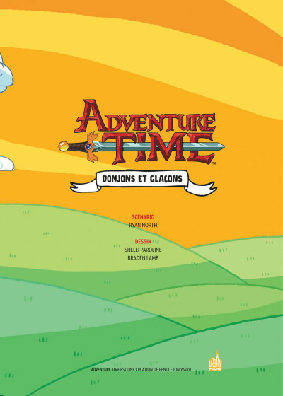 Page 3 Adventure time intégrale tome 2