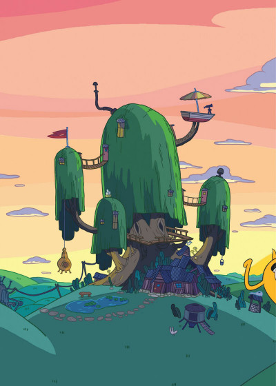 Page 4 Adventure time intégrale tome 2