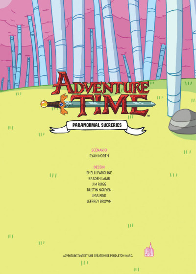Page 3 Adventure time intégrale tome 3