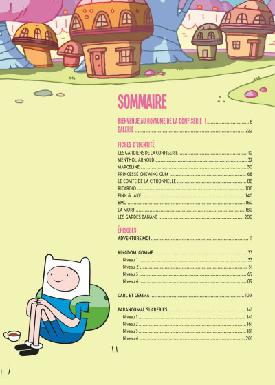 Page 5 Adventure time intégrale tome 3