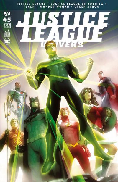 Couverture Justice league univers tome 5