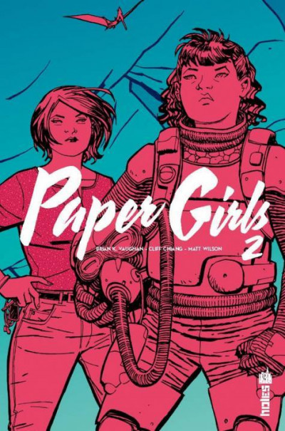 Couverture Paper girls tome 2