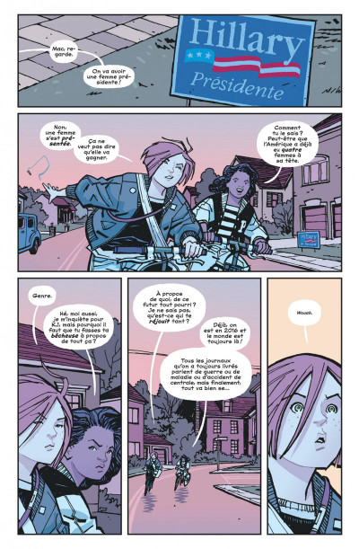 Page 1 Paper girls tome 2