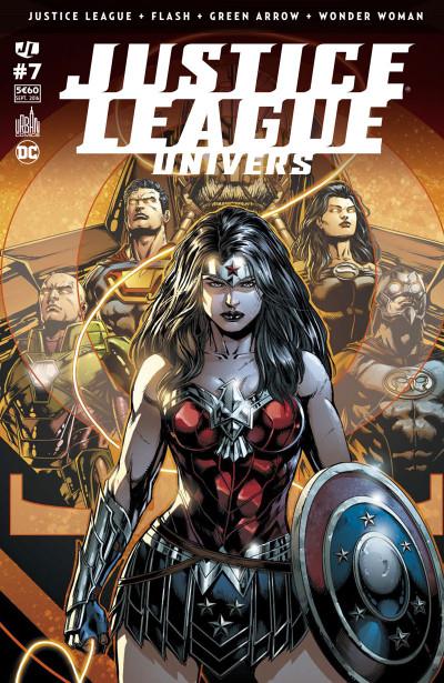 Couverture Justice League univers tome 7