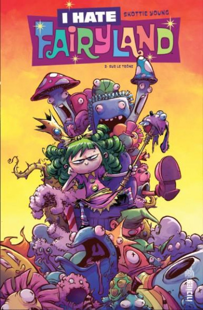 Couverture I hate fairyland tome 2