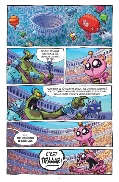 Page 1 I hate fairyland tome 2