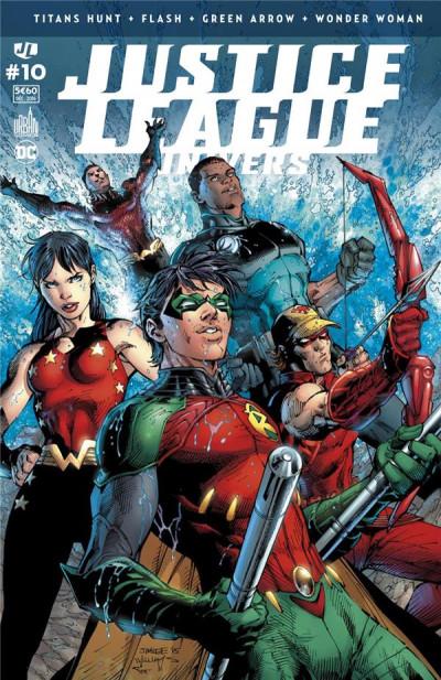 Couverture Justice league univers tome 10