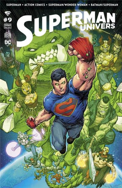 Couverture Superman univers tome 9