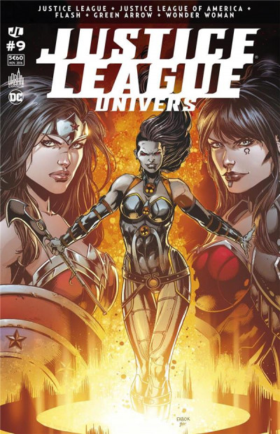 Couverture Justice league univers tome 9