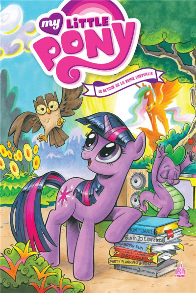 Couverture My little pony - intégrale tome 1