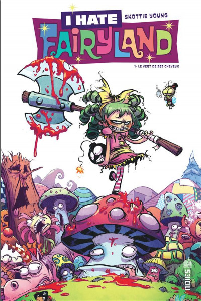 Couverture I hate Fairyland tome 1