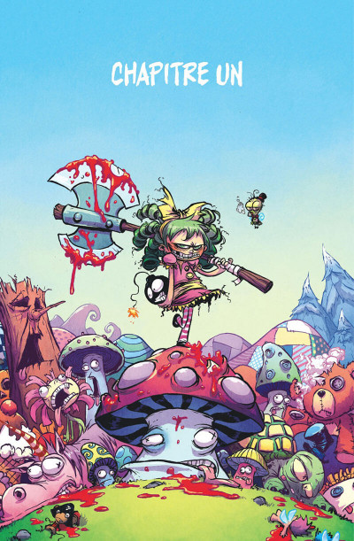 Page 4 I hate Fairyland tome 1