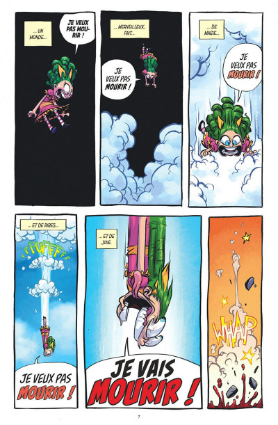 Page 7 I hate Fairyland tome 1