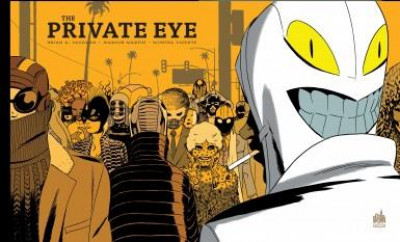 Couverture The private eye