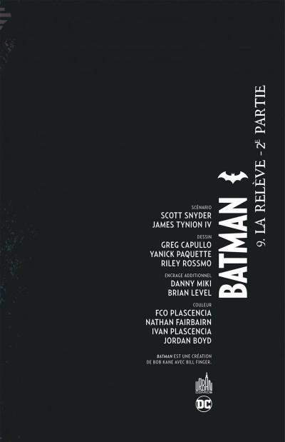 Page 3 Batman tome 9