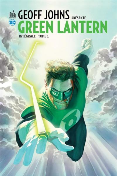 Couverture Geoff Johns présente Green Lantern - intégrale tome 1