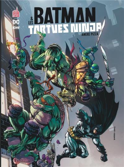 Couverture Batman et les Tortues Ninja tome 1