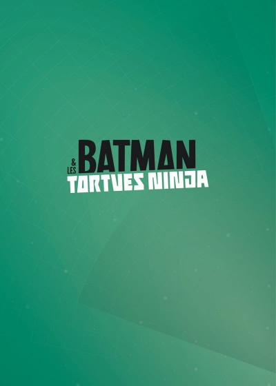 Page 1 Batman et les Tortues Ninja tome 1