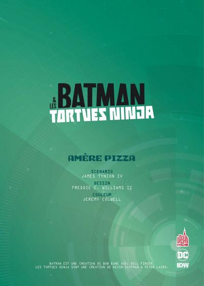 Page 3 Batman et les Tortues Ninja tome 1