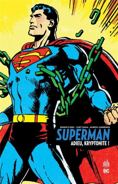 Couverture Superman - Adieu, Kryptonite