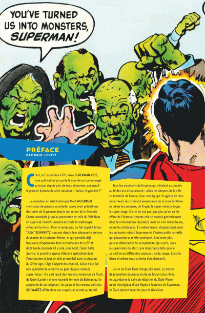 Page 4 Superman - Adieu, Kryptonite