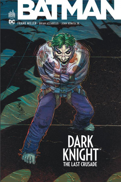 Couverture Dark knight - The last crusade