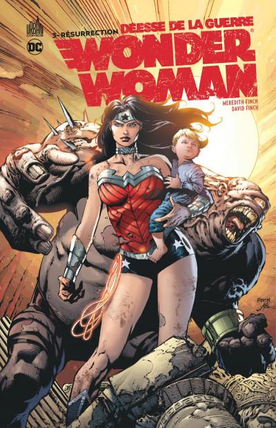 Couverture Wonder Woman, déesse de la guerre tome 3