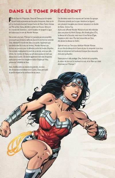 Page 4 Wonder Woman, déesse de la guerre tome 3