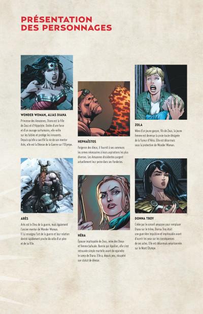 Page 5 Wonder Woman, déesse de la guerre tome 3