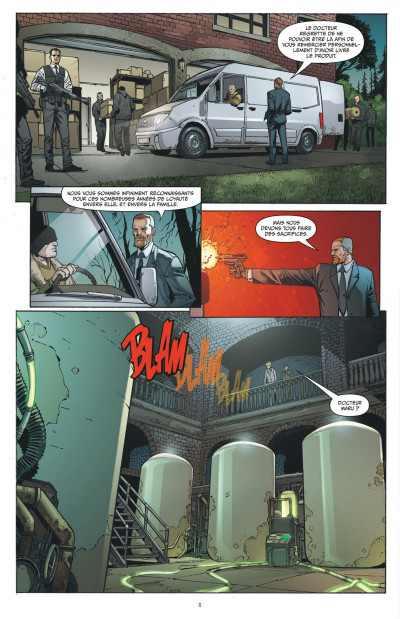 Page 8 Wonder Woman, déesse de la guerre tome 3