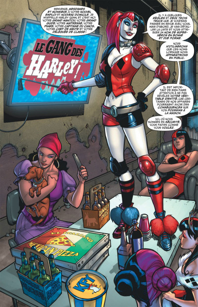 Page 7 Harley Quinn tome 4