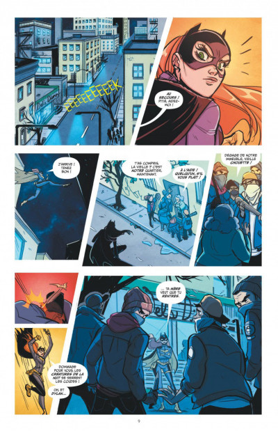Page 4 Batgirl tome 3
