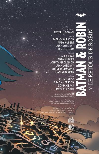 Page 3 Batman et Robin tome 7