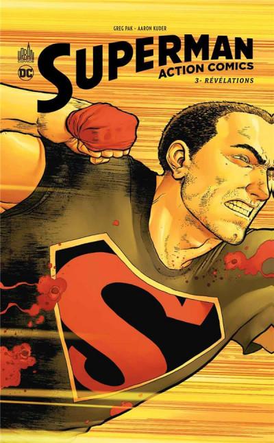 Couverture Superman action comics tome 3