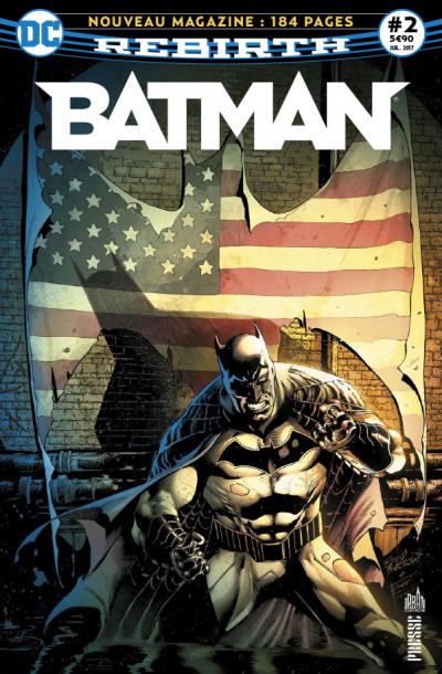 Couverture Batman rebirth tome 2