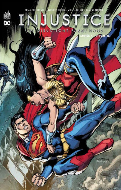 Couverture Injustice tome 7