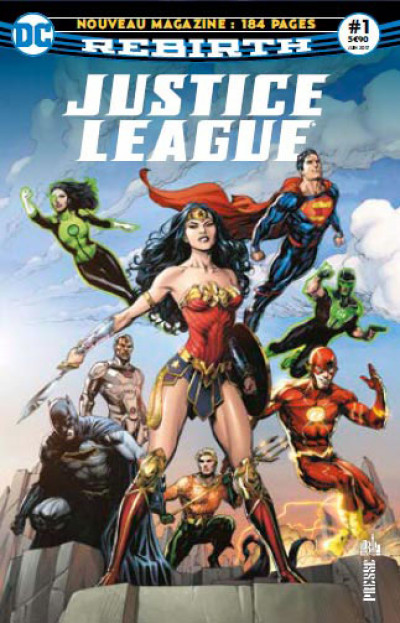 Couverture Justice league rebirth tome 1