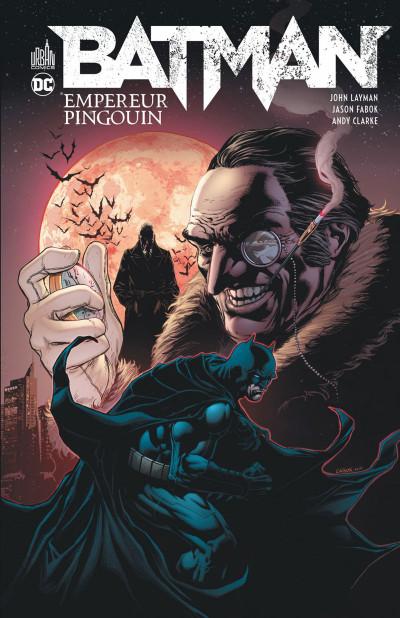 Couverture Batman Empereur Pingouin