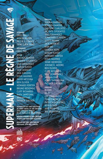 Page 2 Superman - Le règne de Savage