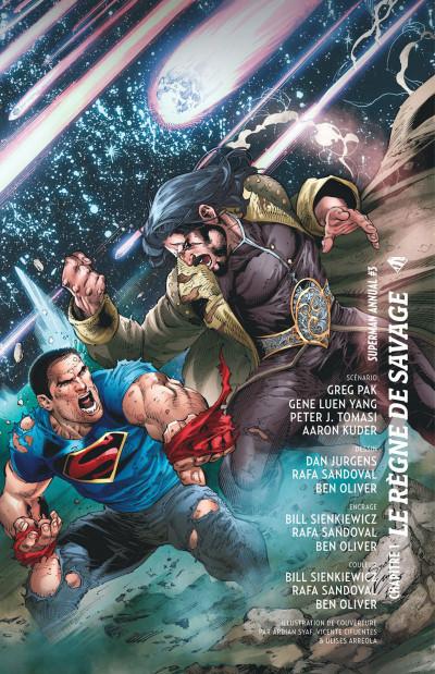 Page 6 Superman - Le règne de Savage