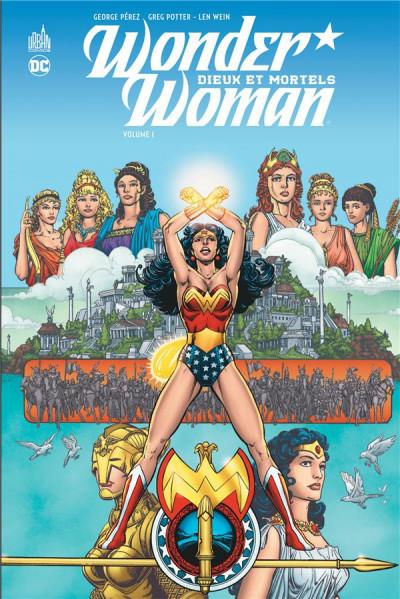 Couverture Wonder woman - dieux et mortels tome 1