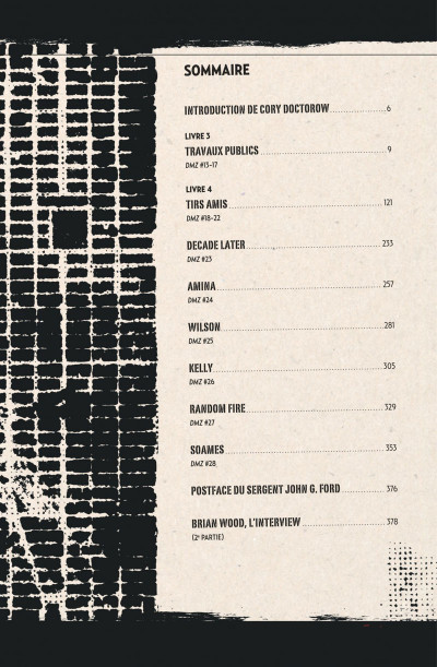 Page 5 DMZ - intégrale tome 2