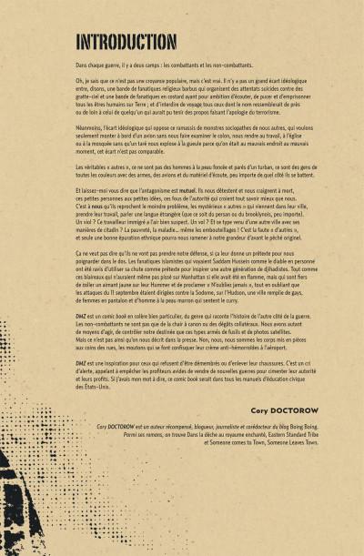 Page 7 DMZ - intégrale tome 2